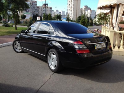 Mercedes-Benz S 500 Long (W221)